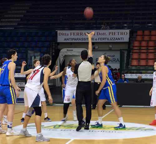 B.ethic Ferrara vs Defensor Viterbo 68-38  (18-5, 38-18, 59-32)