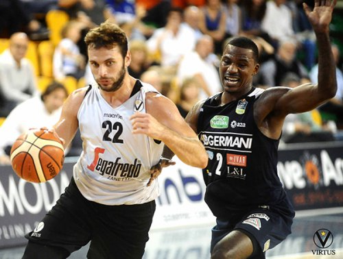 Germani Brescia VS Virtus Segafredo 87-74 (15-20, 41-38, 63-61)