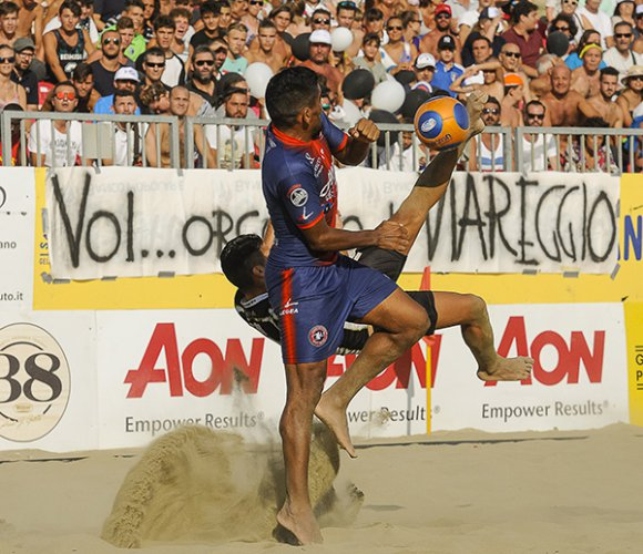 Euro Beach Soccer League: presentata a Terracina la Supefinal e Promotion Final 2017