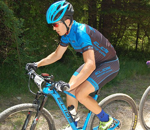 Mountain Bike a BORGOPACE 19-06-16, vincitore assoluta Alessandro NASPI team Elios Factory Racing Sirolo (AN).