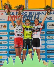 Claudia Gentili vince la Nove Colli 2013 femminile