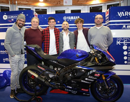 Il Gas Racing Team ha presentato la stagione 2018