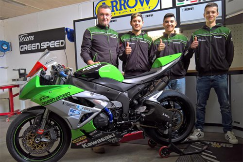 Presentazione Team Green Speed 2018