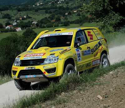 Suzuki sbanca la Baja Rally Adriatico