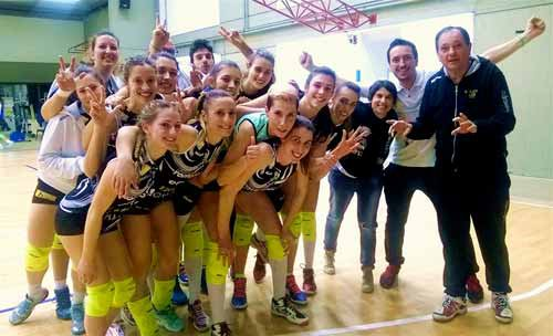 Montespertoli-Volley Club Cesena 0-3 (21-25, 14-25, 22-25)