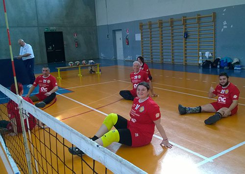 Torneo sitting volley a Parma