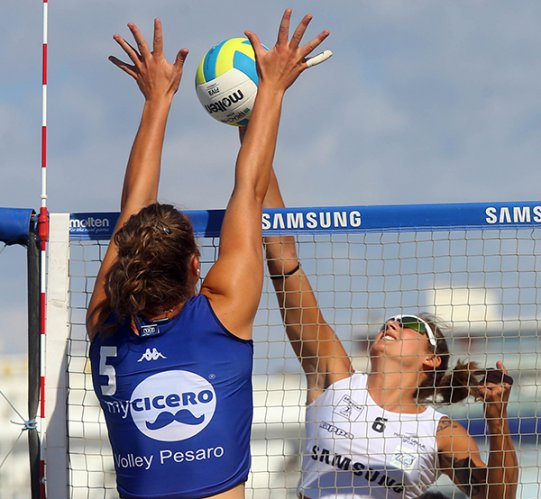 Terza tappa del Samsung Volley Summer Tour a Cesenatico