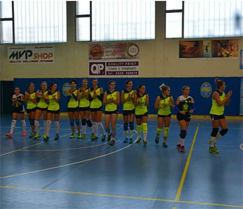 Lunezia Volley vs Stella Rimini 2-3 (25-19, 25-20, 20-25, 19-25, 13-15)