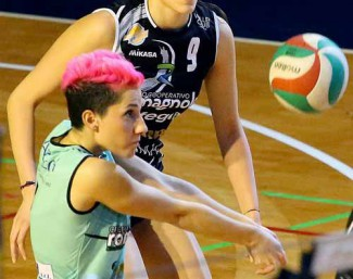Volley Club Cesena-San Lazzaro di Savena 0-3 (16-25, 15-25, 18-25)