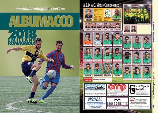 albumacco calcio emiliano romagnolo 2018 edicole punti vendita