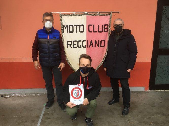Il Motoclub Reggiano premia i piloti del Lucky Racing Team