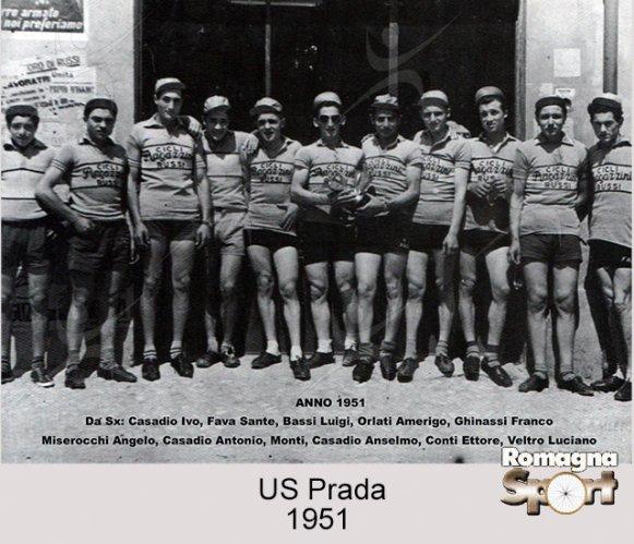 FOTO STORICHE - US Prada 1951