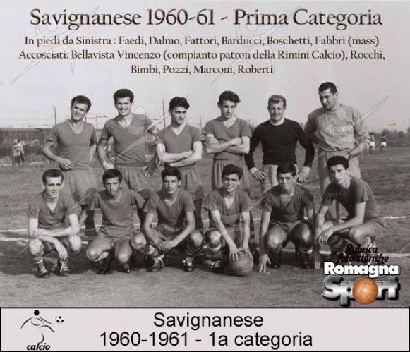 FOTO STORICHE - Savignanese 1960-61
