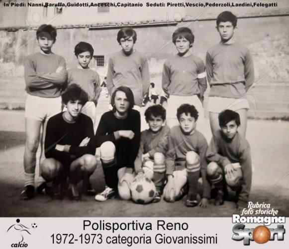 FOTO STORICHE - Giovanissimi Polisportiva Reno 1972-73
