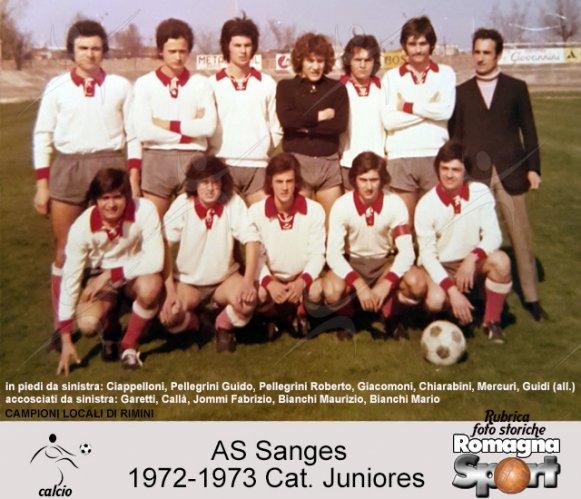 FOTO STORICHE - Juniores Sanges 1973-74