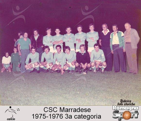 FOTO STORICHE - CSC Marradese 1975-76