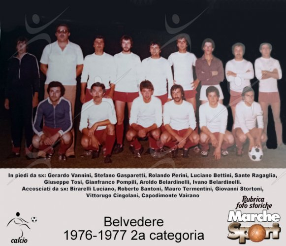 FOTO STORICHE - Belvedere  1976-77