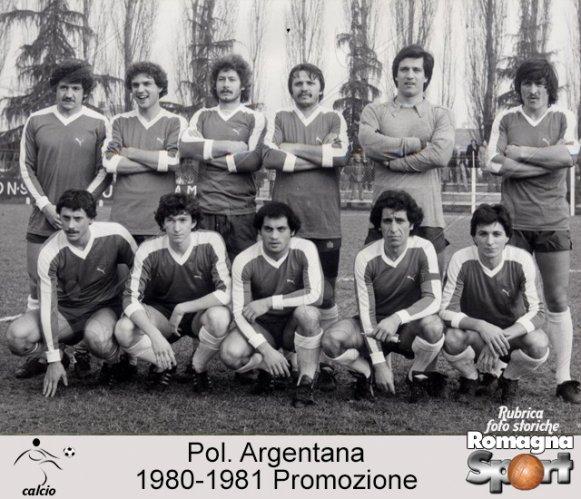 FOTO STORICHE - Pol. Argentana 1980-81