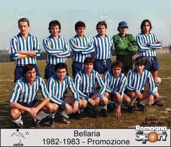 FOTO STORICHE - Bellaria Calcio 1982-83