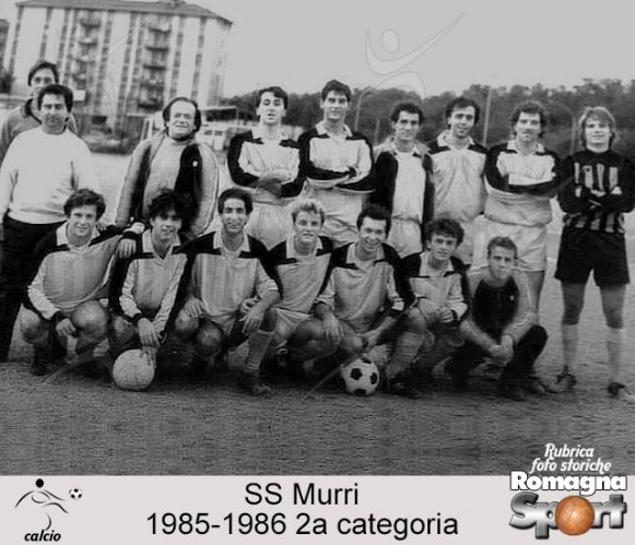 FOTO STORICHE - SS Murrri 1985-86