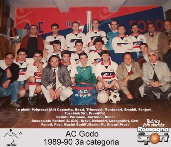 FOTO STORICHE - AC Godo 1989-90