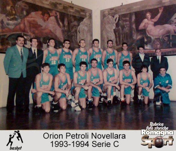 FOTO STORICHE - Orion Petroli Novellara 1993-94