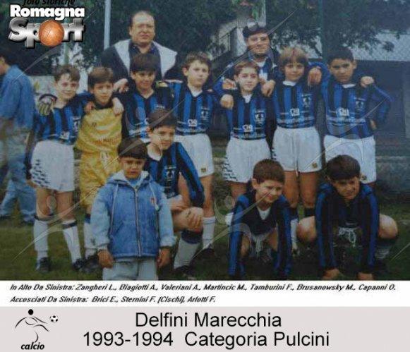 FOTO STORICHE - Pulcini Delfini Rimini 1993-94