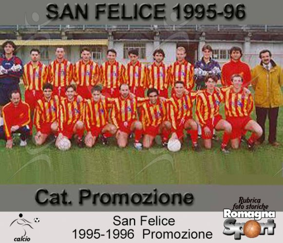 FOTO STORICHE - US San Felice 1995-96