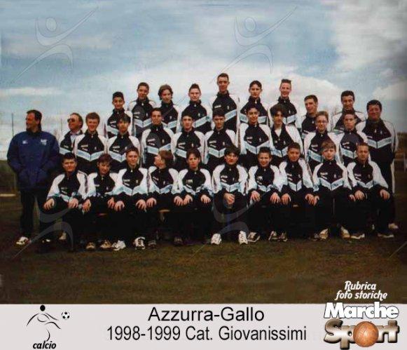 FOTO STORICHE - Giovanissimi Azzurra-Gallo 1998-99