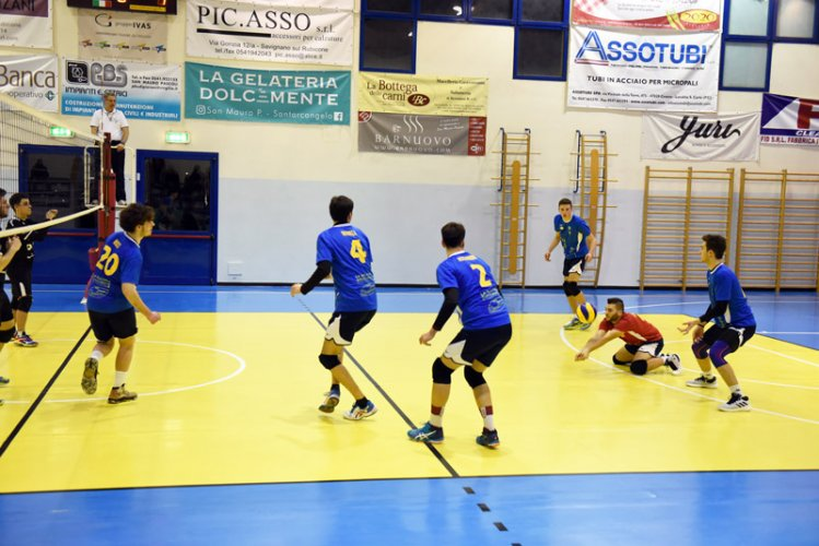Rubicone In Volley RIV-VCC Cesena 3-1