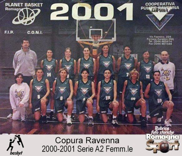FOTO STORICHE - Copura Ravenna 2000-01