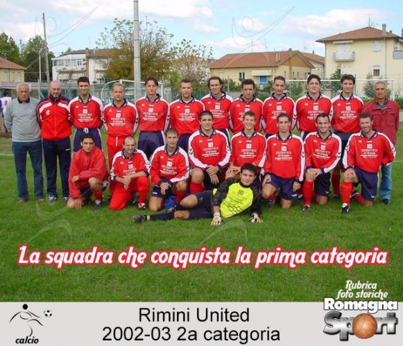 FOTO STORICHE - Rimini United 2002-03