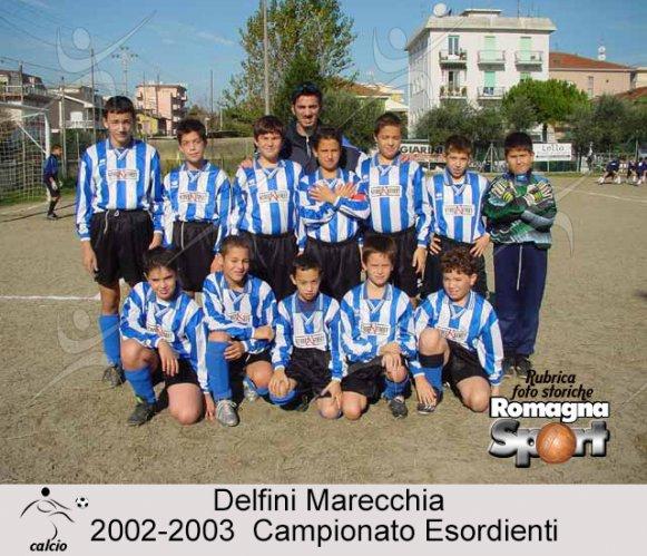 FOTO STORICHE - Esordienti Delfini Rimini 2002-03