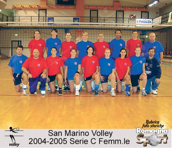 FOTO STORICHE - San Marino Volley 2004-05