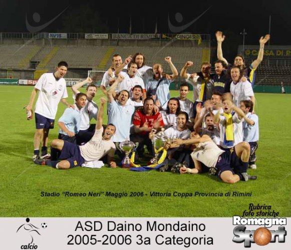 FOTO STORICHE - Daino Mondiano 2005-06