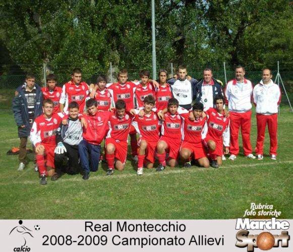 FOTO STORICHE - Allievi Real Montecchio 2008-09