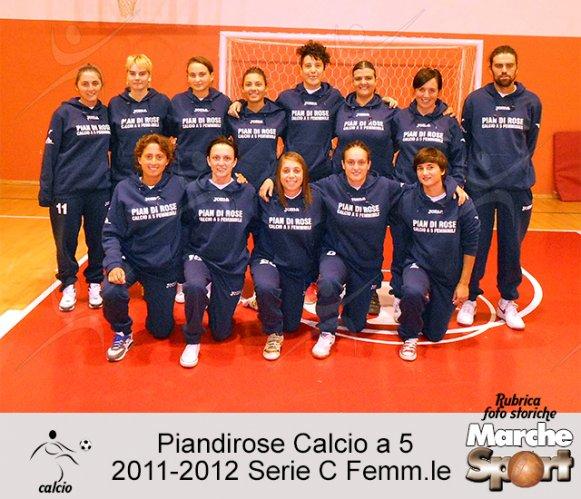 FOTO STORICHE - Piandirose Calcio a 5 Femminile 2011-12
