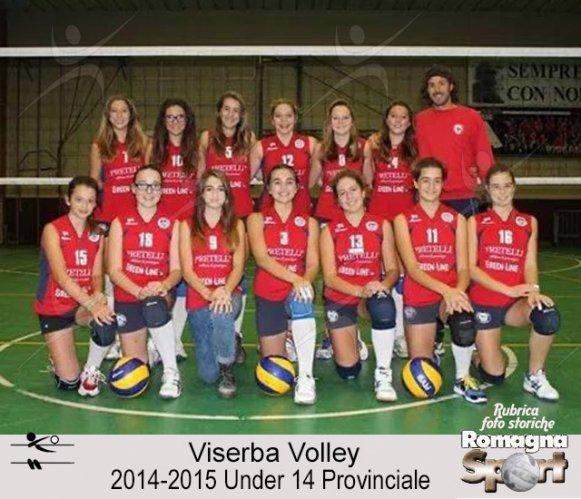 FOTO STORICHE - Under 14 Viserba Volley 2014-15