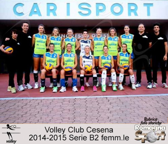 FOTO STORICHE - Volley Club Cesena 2014-15
