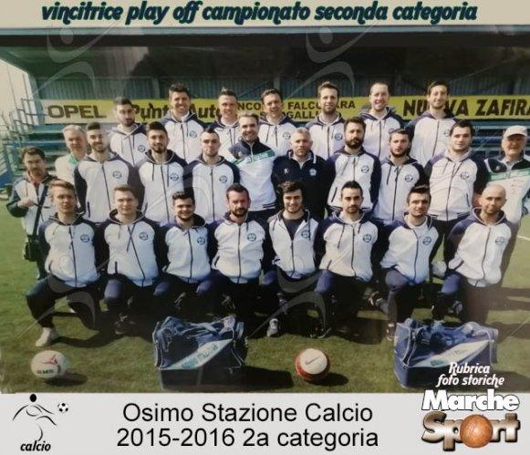 FOTO STORICHE - Osimo Stazione Calcio 2015-16