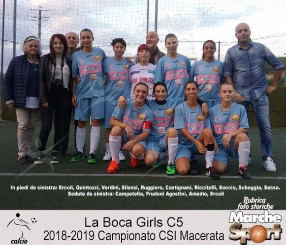 FOTO STORICHE - La Boca Gril C5 2019-20