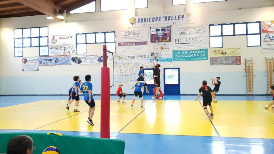 Rubicone In Volley RIV-Conad Superstore Bengasi Forli 3-0