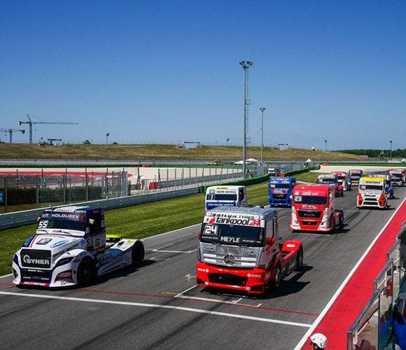 Da domani il Misano Petronas Urania Grand Prix truck