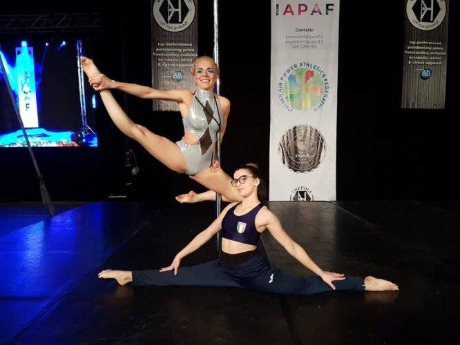 Pole Dance/ Claudia Dipilato d'argento alla Winter Cup