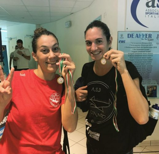 Le Iron Swimmers Ladies e l'Iron Master