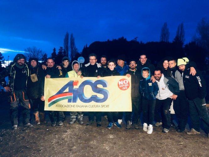Al Lago Riviera di Viserba la terza  prova del Campionato Provincale di Pesca AICS