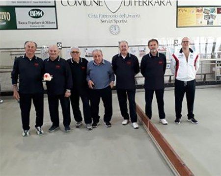 Bocce Serie A 2018:Monastier-CVM Utensiltecnica Montegridolfo 0-0