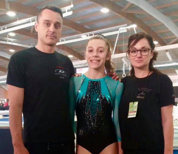 Ginnastica Riccione al Campionato nazionale Gold Junior e Senior