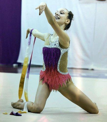Ginnastica Ritmica - Emma Bulzoni di Edera Ravenna qualificata per i nazionali Gold