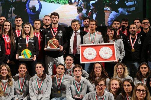 Cus Bologna, i campioni d'Europa